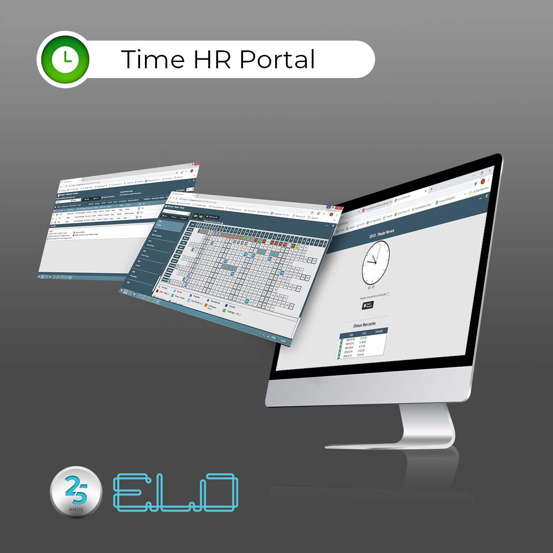 Trabalho remoto com Time HR Portal