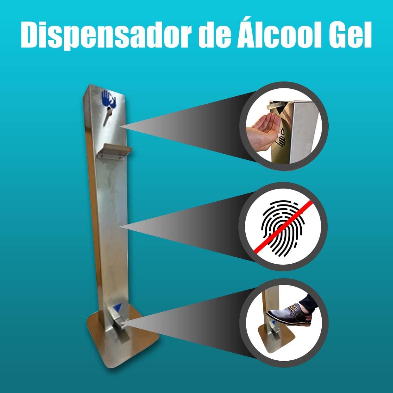 Dispensador Álcool Gel com pedal – Aceda ao seu local de trabalho em segurança!